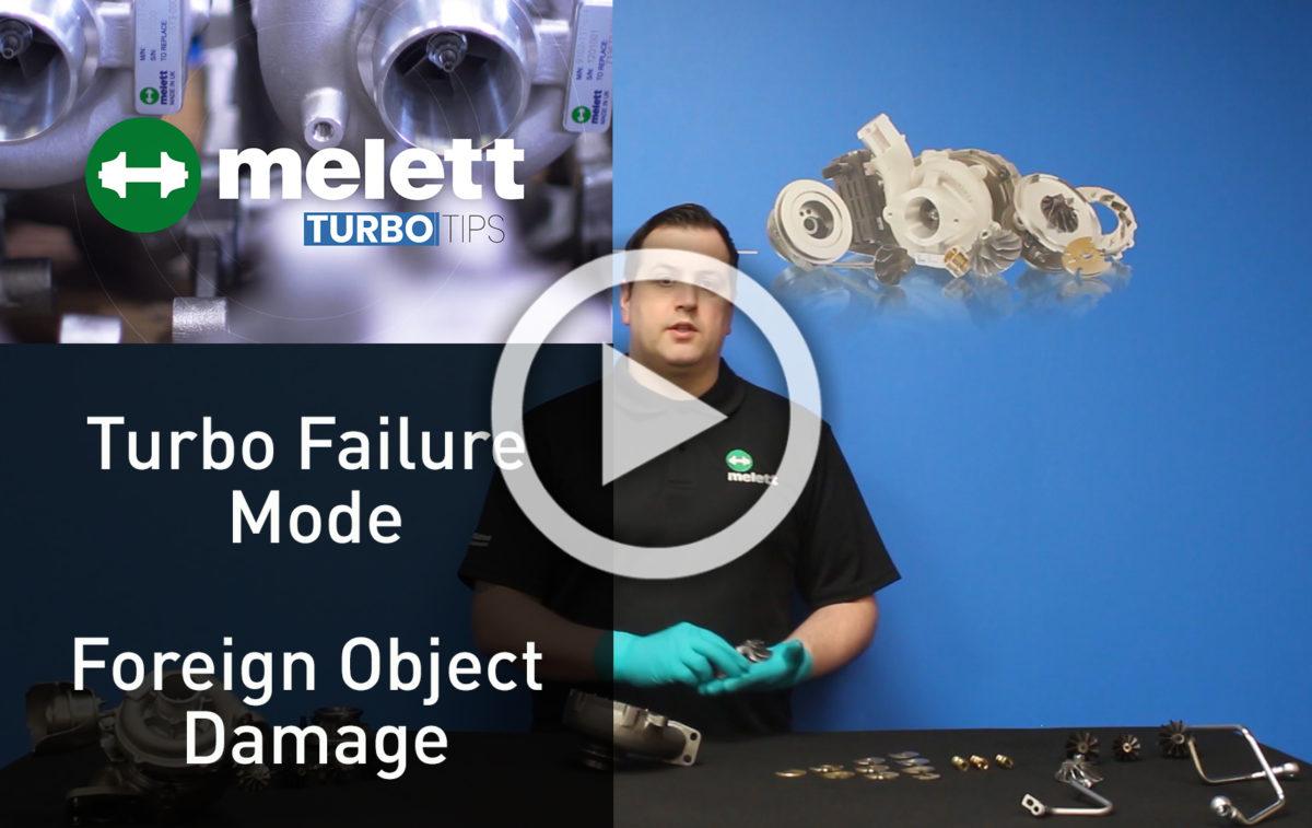 Why do turbos fail - FOD
