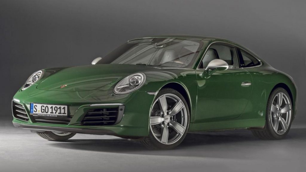 One millionth Porsche 911 rolls off production line