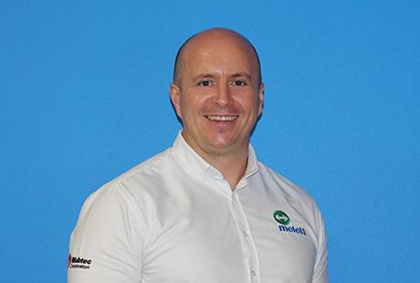 Darren Johnson Melett Head of Sales