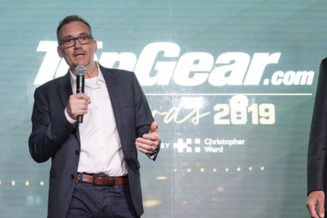 Ian Warhurst Top Gear award